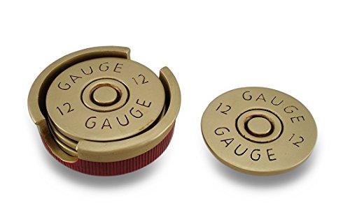 four-piece-12-gauge-shotgun-shell-coaster-set-w-base