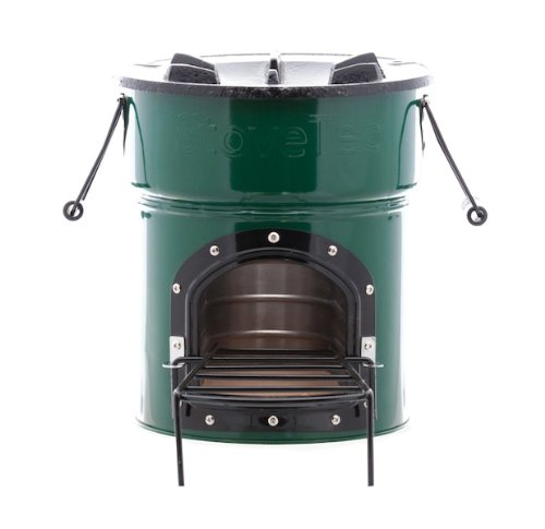Stovetec deluxe door stove wood and biomass fuel