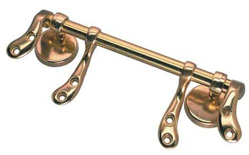 Polished brass finish toilet seat hinge & Buffers