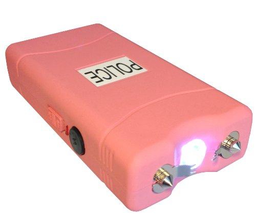 Police 15000000 V Stun Gun With Led Flashlight (Pink)