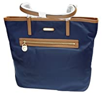 Michael Kors Kempton Large North/South Navy Tote Bag
