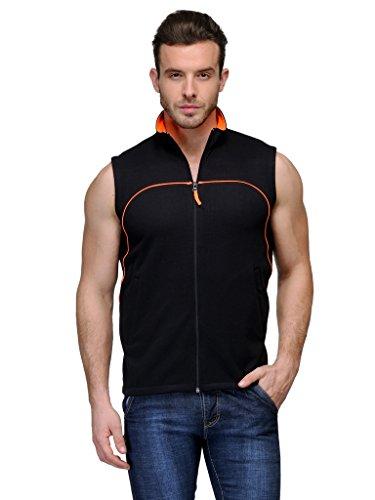 Scott-Sleeveless-Jacket-Mens-withzip-Black