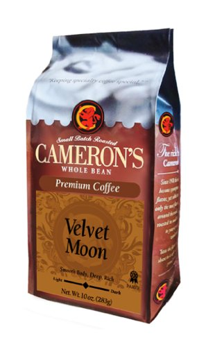 CAMERON'S Whole Bean Coffee, Velvet Moon, 10-Ounce Image