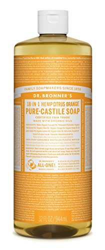 Dr-Bronners-Magic-Soaps-18-In-1-Hemp-Citrus-Orange-Pure-Castille-Soap-32-Ounce-Bottle