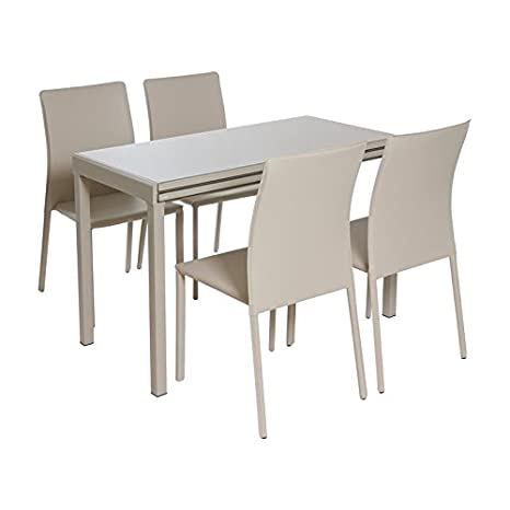 Set table with 4 chairs