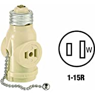 Leviton 8761406I Do it Adapter-IV SOCKET ADAPTER