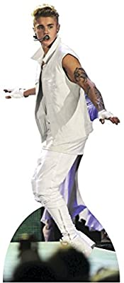 Justin Bieber - Tattoo Arms Lifesize Standup Cardboard Cutouts 32 x 76in