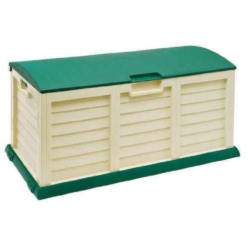 BillyOh Large Plastic Garden Storage Box - Cushion Box - 390 litre