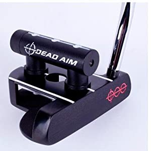 Dead Aim Mallet Putter RH 36 Inches Silver w  Scope by Dead Aim