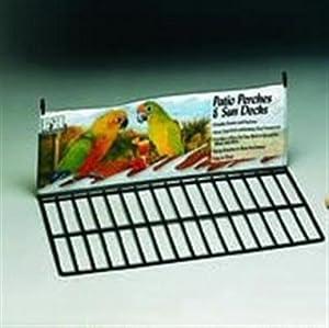 Prevue Pet Products Black Wire Patio Sundeck - 8