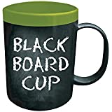 Modern Living Chalk Board Coffee Mug (Green)