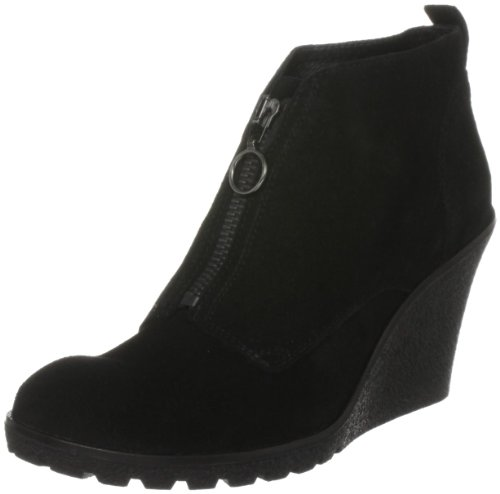 Carvela Women's Slip Black Wedges Boots 2699800209 7 UK