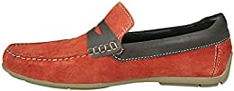 US Polo Assn Mens Leather Loafers and Moccasins