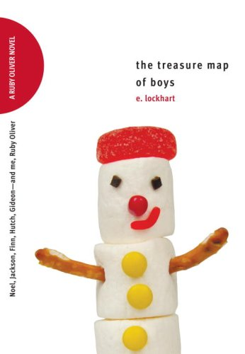 Cover of The Treasure Map of Boys: Noel, Jackson, Finn, Hutch, Gideon--and Me, Ruby Oliver