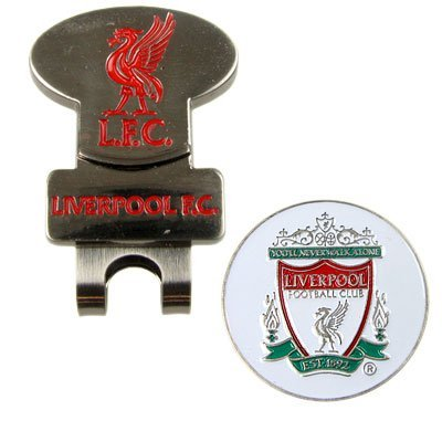 Liverpool FC. Hat Clip and Detachable Golf Ball Marker