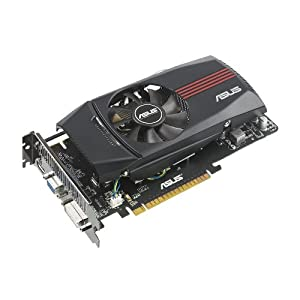 ASUS NVIDIA GeForce GTX 550 Ti 1 GB DDR5 PCI-Express Video Card with VGA/DVI/HDMI, ENGTX550 TI DC/DI/1GD5