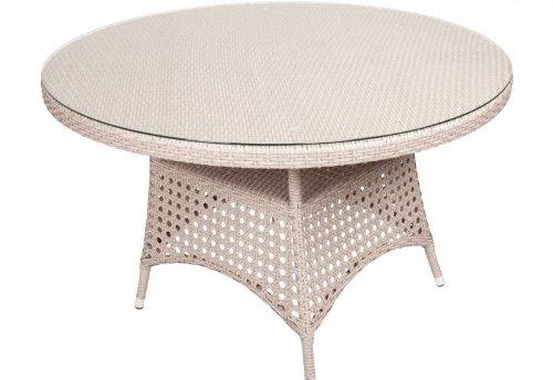 Diamond Garden Tisch Dublin 120 cm sand günstig bestellen