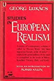 Studies in European Realism (0448001667) by Lukacs, Gyorgy