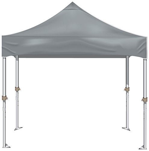Kd Kanopy Xtf100S Xtf Aluminum Frame Indoor/Outdoor Portable Canopy, 10 By 10-Feet, Grey