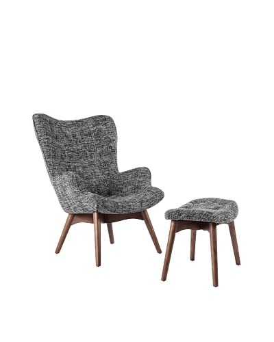 Control Brand Olsen Lounge Chair, Black Twill