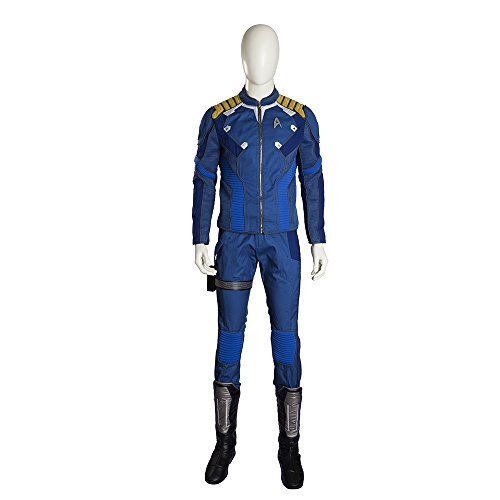 OneCosplay Men's Star Trek Beyond Captain Kirk Cosplay Costume Deluxe Outfit (Custom Made) (Captain Kirk Outfit)