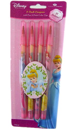 Disney 4pcs pack Princess pop-a-point color tip crayons - Buy Disney 4pcs pack Princess pop-a-point color tip crayons - Purchase Disney 4pcs pack Princess pop-a-point color tip crayons (National Design, Toys & Games,Categories,Arts & Crafts,Crayons)