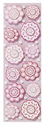 Martha Stewart Crafts Stickers, Layered Doily Flower