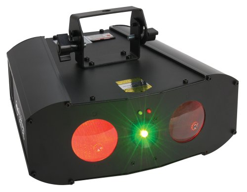 American Dj Supply Galaxian Gem Green And Red Laser With Built-In Popular Dual Gem Effect Light