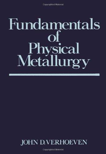 Fundamentals Of Physical Metallurgy