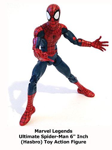 "Review: Marvel Legends Ultimate Spider-Man 6"" Inch (Hasbro) Toy Action Figure"