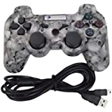 Digital Gaming World PS3 Wireless Controller For Sony Play Station 3 Console (Skull Special Limited Edition),...