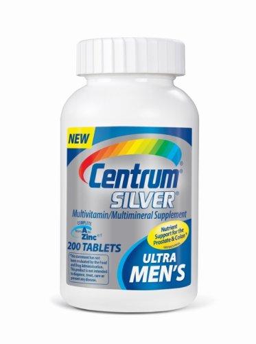 Centrum Ultra Men's Silver Multivitamin/Multimineral Supplement, Tablets