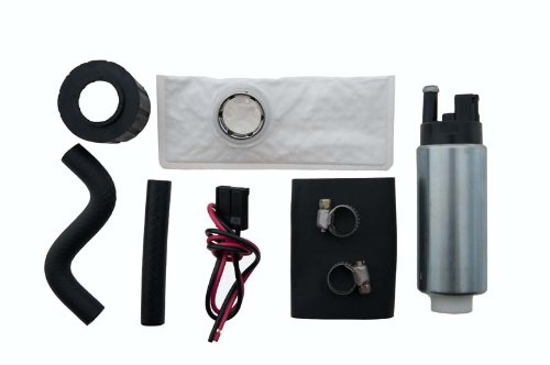 Hfp-340 255 Lph Performance Fuel Pump With Installation Kit And Strainer