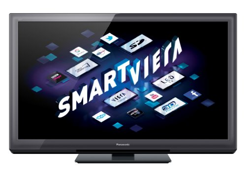 Panasonic Smart VIERA TX-P46ST30B 46-inch Full HD 1080p 3D 600Hz Internet-Ready Plasma TV with Freeview HD
