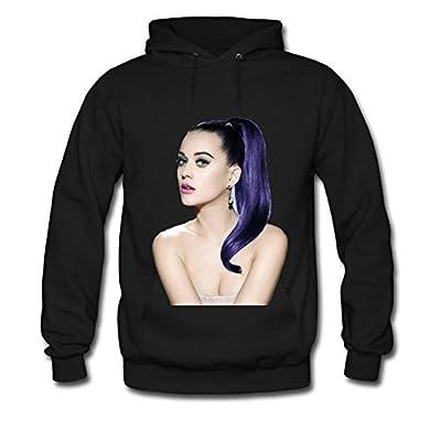 Ruchun Zhou Men's Katy Perry Cotton Hoodies Sweatshirts