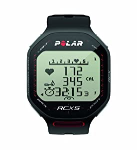 Polar RCX5 Heart Rate Monitor (Black)