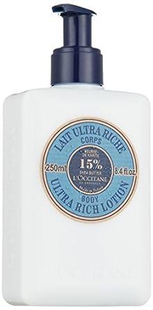 L'Occitane Shea Butter Ultra Rich Body Lotion, 8.4 fl. oz.