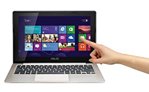 Asus VivoBook S200E 29,5cm (11,6 Zoll) Netbook (Intel Pentium 987, 1,5 GHz, 4 GB RAM, 500 GB HDD, Intel HD, Touchscreen, Win 8) grau