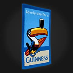 Guinness Toucan Beach Towel