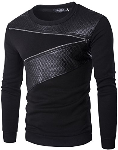whatlees-mens-basic-urban-asymmetrical-design-sweatshirts-with-faux-leather-insert-and-zip