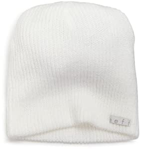 neff Men's Daily Beanie Hat, White, One Size