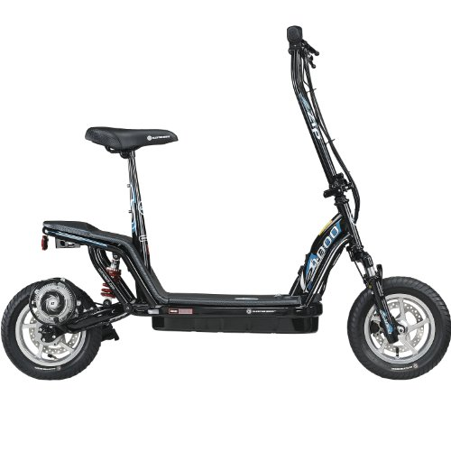 Currie Technologies e-Zip 1000 Electric Scooter (Black)