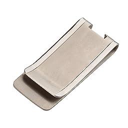 EDC Pocket Titanium TC4 Cash Money Clip Credit Card Holder & Bottle Opener