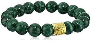 Diamond Empowerment Fund Malachite Green Charity Bracelet, Small