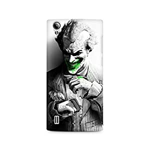 Ebby Arkham City Joker Premium Printed Case For Vivo Y15