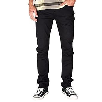 RSQ London Mens Skinny Pants, Black, 28x30
