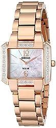 Seiko Women's SUP212 Analog Display Japanese Quartz Rose Gold Watch