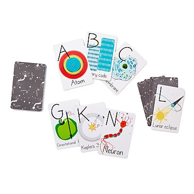 Nerdy Baby Abc Flashcards For Very Young Scientists front-28904