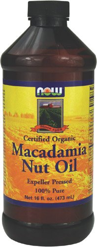 Now Foods Organic Macadamia Oil Pure, 16-Ounce
