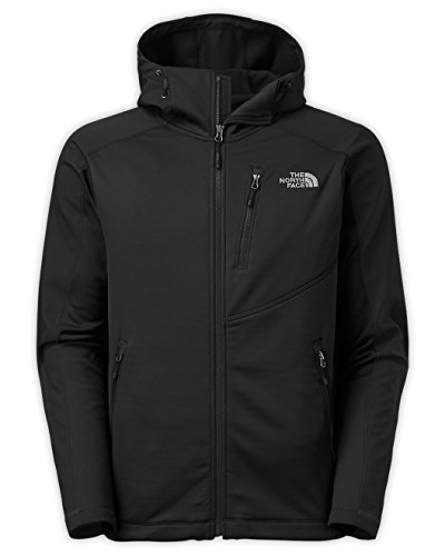 The North Face Men's Tenacious Hybrid Hoodie TNF Black/TNF Black Large